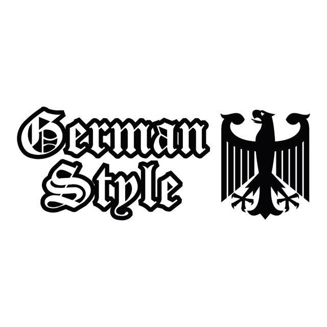 Custom car stickers hot sales german style eagle car body bumper window vinyl decal sticker ff00083