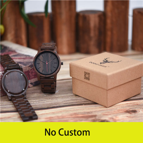 DODO DEER Natural Men's Quartz Wooden Watch Minimalist Classic Watch Round Dial Watch Men's Fashion Accessories Dropshipping C10   Fotoflaco.net