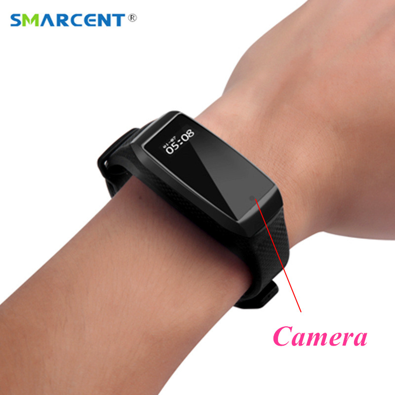 K68 Bracelet intelligent Mini caméra HD 1080 P Mini caméscope Bracelet sport Kamera Micro caméra podomètre Mini caméra d'action bande intelligente