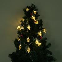 3 3m 20LED Star String Lights LED Navidad Fairy Light Christmas Wedding Decoration Curtain Photo Clip