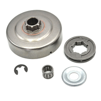 Clutch Drum P 7 Rim Sprocket Needle Bearing Washer E Clip Kit For STIHL Chainsaw 017