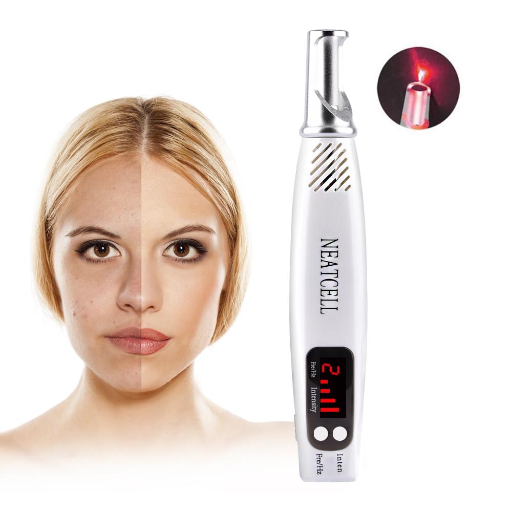 Mini stylo Laser picoseconde pour enlever la tache de rousseur cicatrice de tatouage tache foncée thérapie de Pigment de peau Anti vieillissement Salon de maison Spa soins de beauté