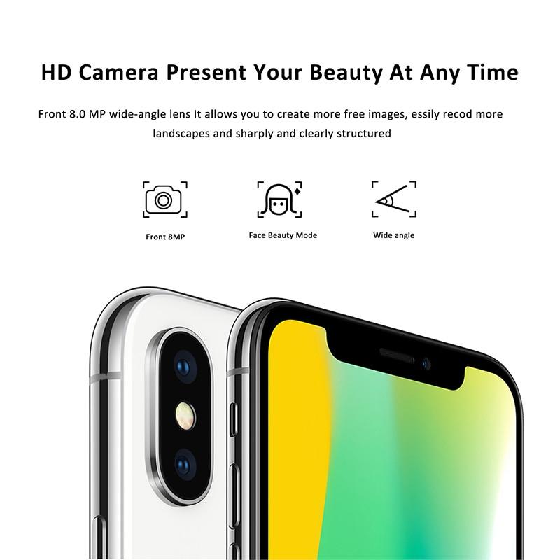 19:9 Notch Screen XGODY Hotwav X 3G Unlock 5.7 Inch Smartphone Android 8.1 Oreo Quad Core 2GB+16GB F
