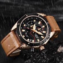Casual Leather Waterproof LIGE9886
