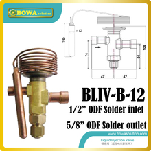 Жидкий хладагент инжекторные клапаны должны быть установлены, когда компрессор получает весьма перегретого всасывания паров