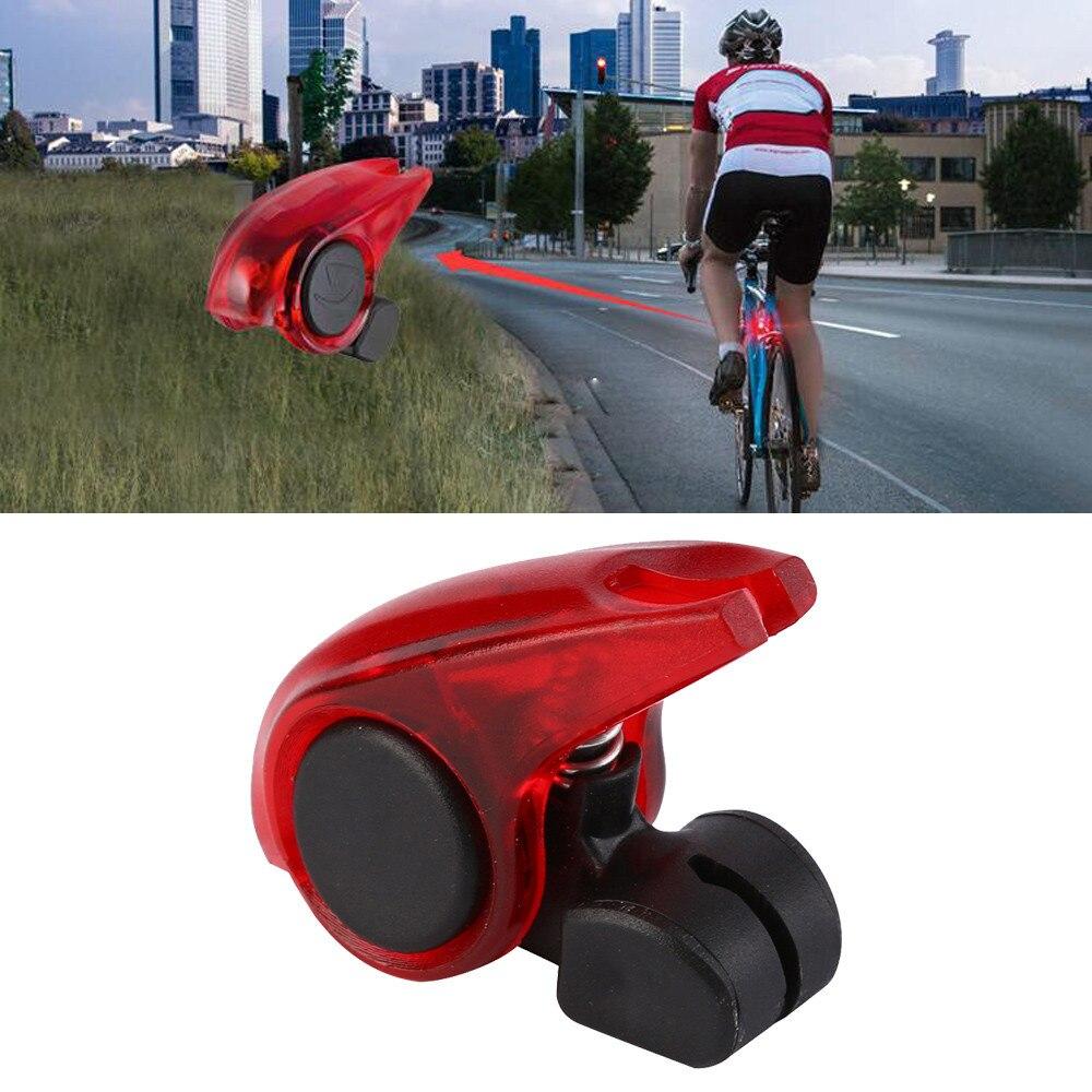 RockBros Bike Portable Outdoor Sportwear Warning LED Clamp light Red 1 Pair