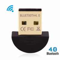 Wireless Bluetooth 4.0 Adapter for PC USB Bluetooth Dongle Audio Receiver Adapter Bluetooth Transmitter for 7/8/XP
