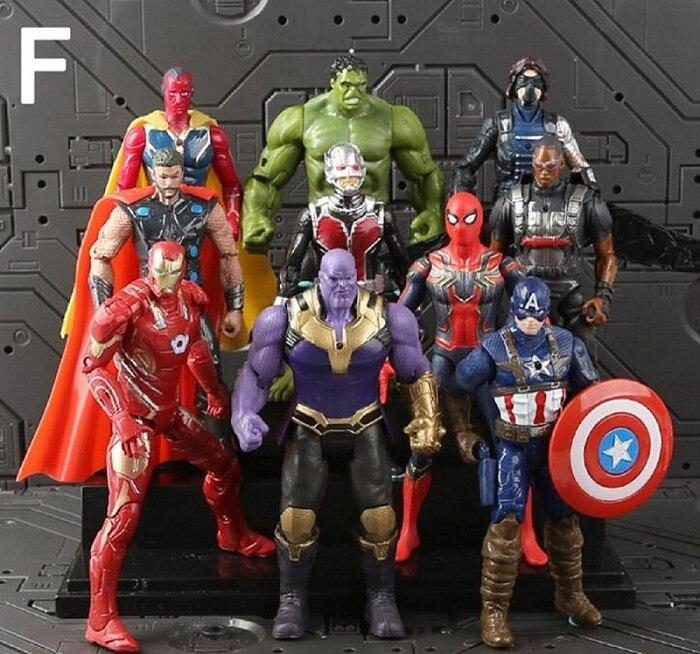 Thanos Marvel Action Figur The Avengers Hero Film Figuren Held Spielzeug Fan Neu