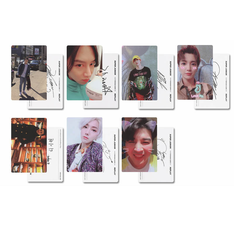 Jewelry Findings & Components Hot Sale Kpop Got7 Shopping Mall Never Ever Album Lomo Cards K-pop New Fashion Self Made Paper Photo Card Hd Photocard St23 Pure White And Translucent