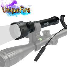 UniqueFire 1502 IR 940nm 3 режима светодиодный фонарик ночного видения инфракрасный свет портативный фонарь с пультом дистанционного давления