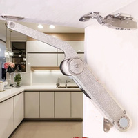 Free stop spring hinges Hydraulic rod drawer lift support cushioning for Kitchen Cabinet Door Furniture Hardware