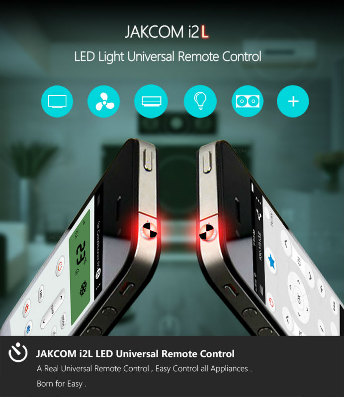 Jakcom Smart Remote Cell Phone Accessories Smart Home Replace Appliances infrared remote control i2L for iPhone i2A for Android 1