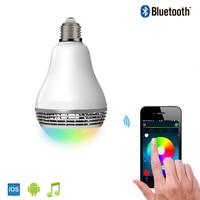 New Arrival Smart Home Illumination LED Lamps Wireless Bluetooth Speaker APP Control Smart Bulbs Speaker For