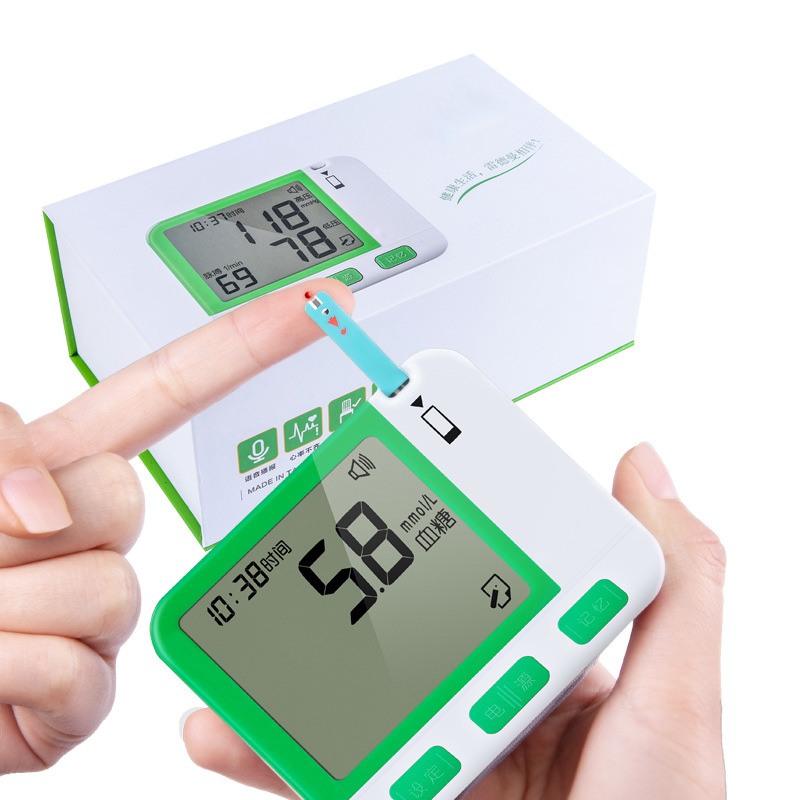 Blood Glucose Meter Household Multi functional Blood Pressure Tester Health Care Wristband Medical Diabetic Monitors