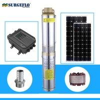 high pressure solar water pump permanent magnet synchronous motor solar water pump deep well for irrigation solar pump 72v
