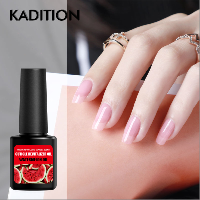 KADITION 8ml New Cuticle Revitalizer Nutrition Oil 12 Smell Fruits Nail Art Care Nail Treatment Manicure Tool Nail Cuticle Oil image