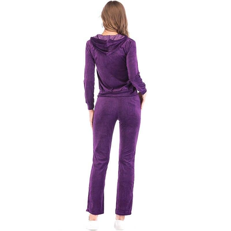 FLORATA kobiet garnitur casual wiosna jesień znosić moda damska Zipper Up odzież kobiety do treningów i ćwiczeń ubrania M-3XL
