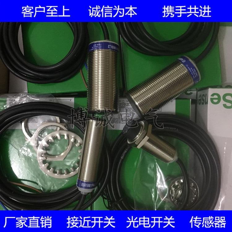Spot Cylindrical Sensor Proximity Switch XS4P18NA370D