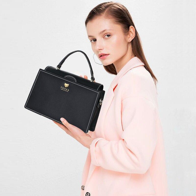 FOXER Brand Women Crossbody bag & Shoulder bags Ladies Messenger Bag Womens New Fashion Small Bags Cross-body Handbags