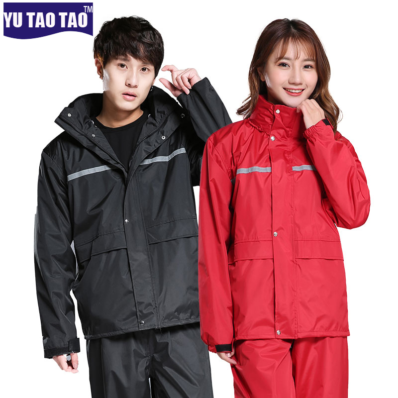 Man and Women Waterproof Jacket and Pants Suit Raincoat for Outdoor Sports Climbing Hiking Tour fishing