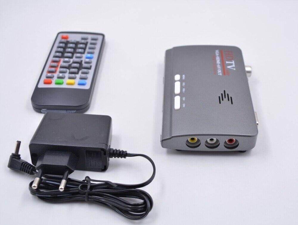 HD TV qutusu DVB T2 Yer qəbuledicisi DVB-T2 DVB T Dəstək VGA + - Evdə audio və video - Fotoqrafiya 4