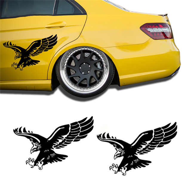 Reflective eagle decal vinyl car stickers auto door hood cover sticker exterior wx0765