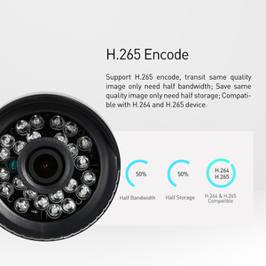 Image 3 - H.265 Waterproof 3MP Bullet IP Camera 1296P / 1080P LED IR Outdoor Security Night Vision CCTV System Video Surveillance HD Cam