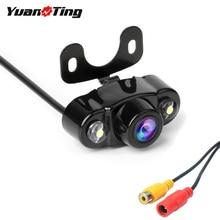 YuanTing IR, ночное видение, водонепроницаемая, CMOS, 170 градусов, HD, автомобильная, заднего вида, резервная, парковочная камера, DC 12 В, для TFT lcd монитора