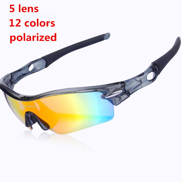 8b0885b79a285 5 Lens Brand JBR Polarized Cycling Sunglasses Men Outdoor Sport Bike  Bicycle Cycle Eyewear Radar Goggles Outdoor Sun Glasses