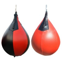 Boxing Pear Shape PU Speed Ball Swivel Punch Bag Punching Exercise Speedball Speed Bag Punch Fitness