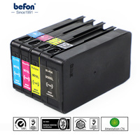Befon Kompatibel 950 951 XL Tinte Patrone Ersatz für HP 950 951 HP950 HP951 Officejet Pro 8100 ePrinter 8600 Plus drucker