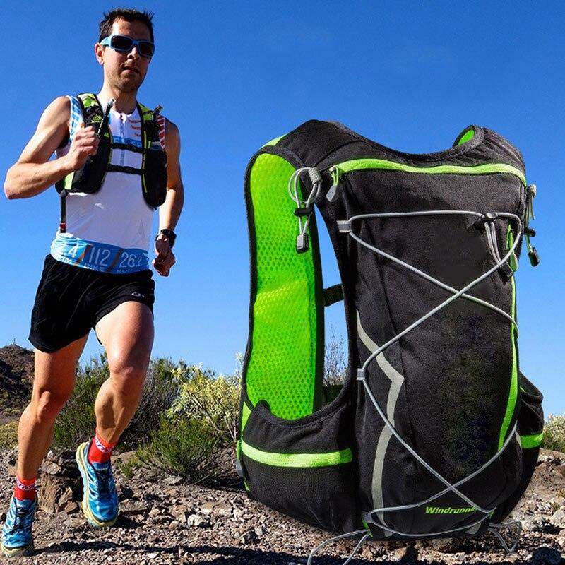Mode Sport Gilet Sac Respirant Grande Capacité Sac À Dos Hommes Et Femmes Marathon Courir Vélo Bouteille D'eau Sacs 88 Être