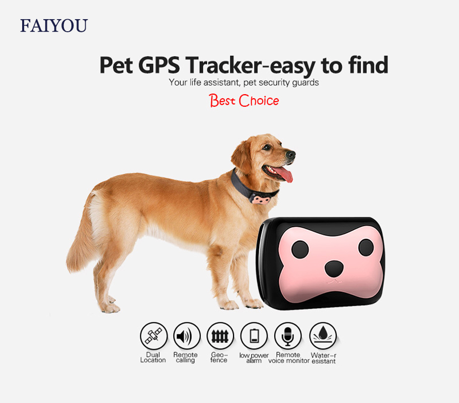 Smart Sport Tracker Locator Positioiner GSM/GPRS Satellete Pet Dog 4 Band Frequency Postioning Device With 2G Sim Card