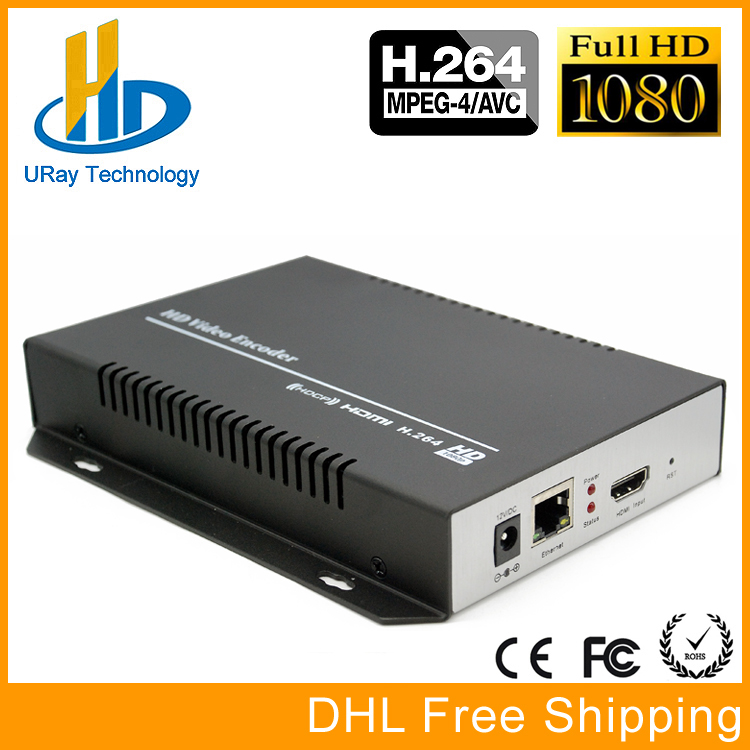 URay H264 /H.264 /H 264 HDMI Encoder HDMI To IP Streaming Video Encoder Decoder RTMP UDP HLS RTSP For IPTV, Live Broadcast dhl free shipping h 264 sd hd 3g sdi to ip encoder video streaming encoder h264 iptv live streaming rtsp rtmp encoder