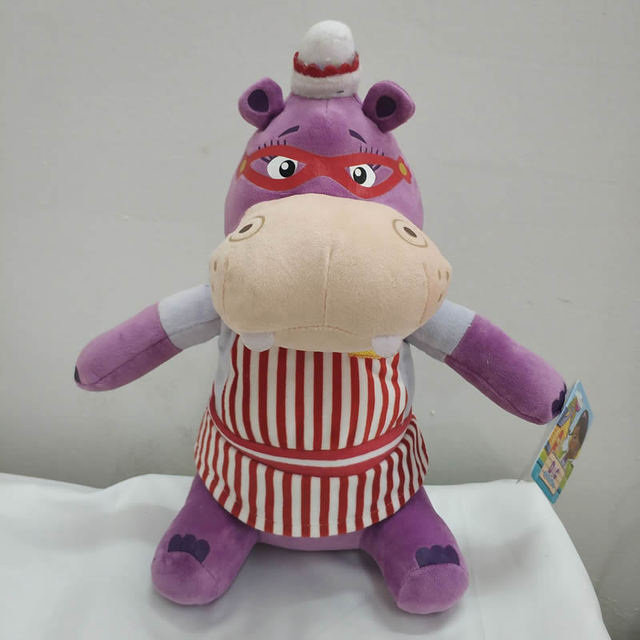 Free Shipping 33cm 13inch Original Doc Mcstuffins Toy Hallie Hippo