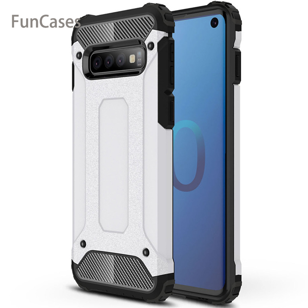 For <font><b>Samsung</b></font> Galaxy <font><b>S10</b></font> Plus Lite <font><b>Case</b></font> Cover Luxury Hard Rugged Hybrid <font><b>Armor</b></font> Silicone Slim TPU Fitted <font><b>Case</b></font> for Samung tempurung image
