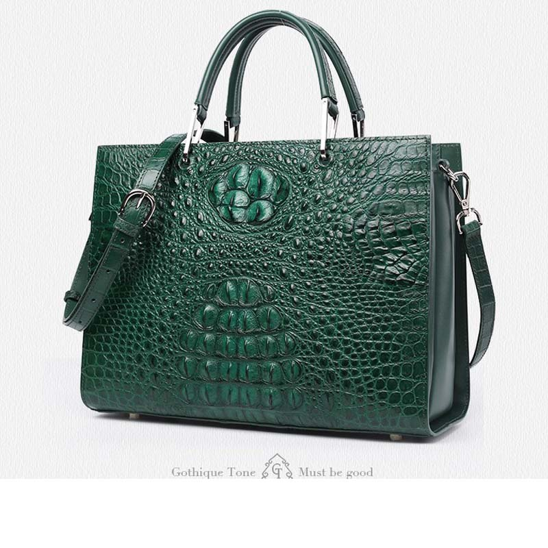 Gete 2016 new import Thailand crocodile skin bag women handbag leather bag Lady handbag ламинат classen cottage 4v зеефельд 33 класс