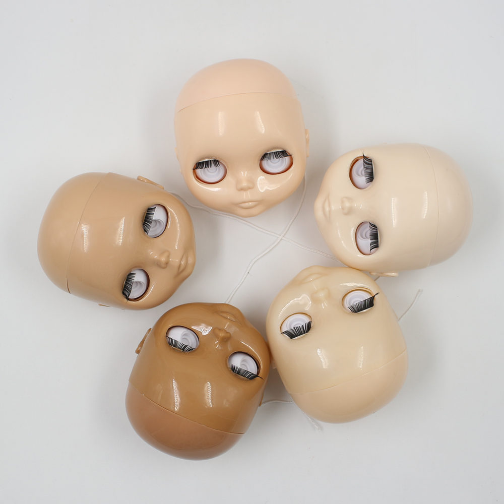 Factory Blyth doll head without eyechips hair and body without makeup Change the face and eyes
