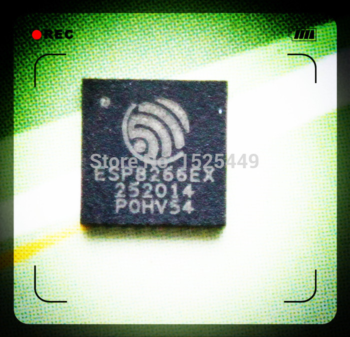 free shipping (5 pieces) For esp 8266 ESP8266EX version type chip chips new and original IC