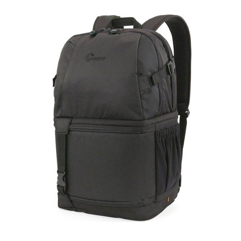 """Véritable Lowepro DSLR vidéo Fastpack 350 AW DVP 350aw sac photo reflex sac à bandoulière 17 """"ordinateur portable et couverture de pluie en gros-in Sacs pour appareil photo from Electronique    1"""