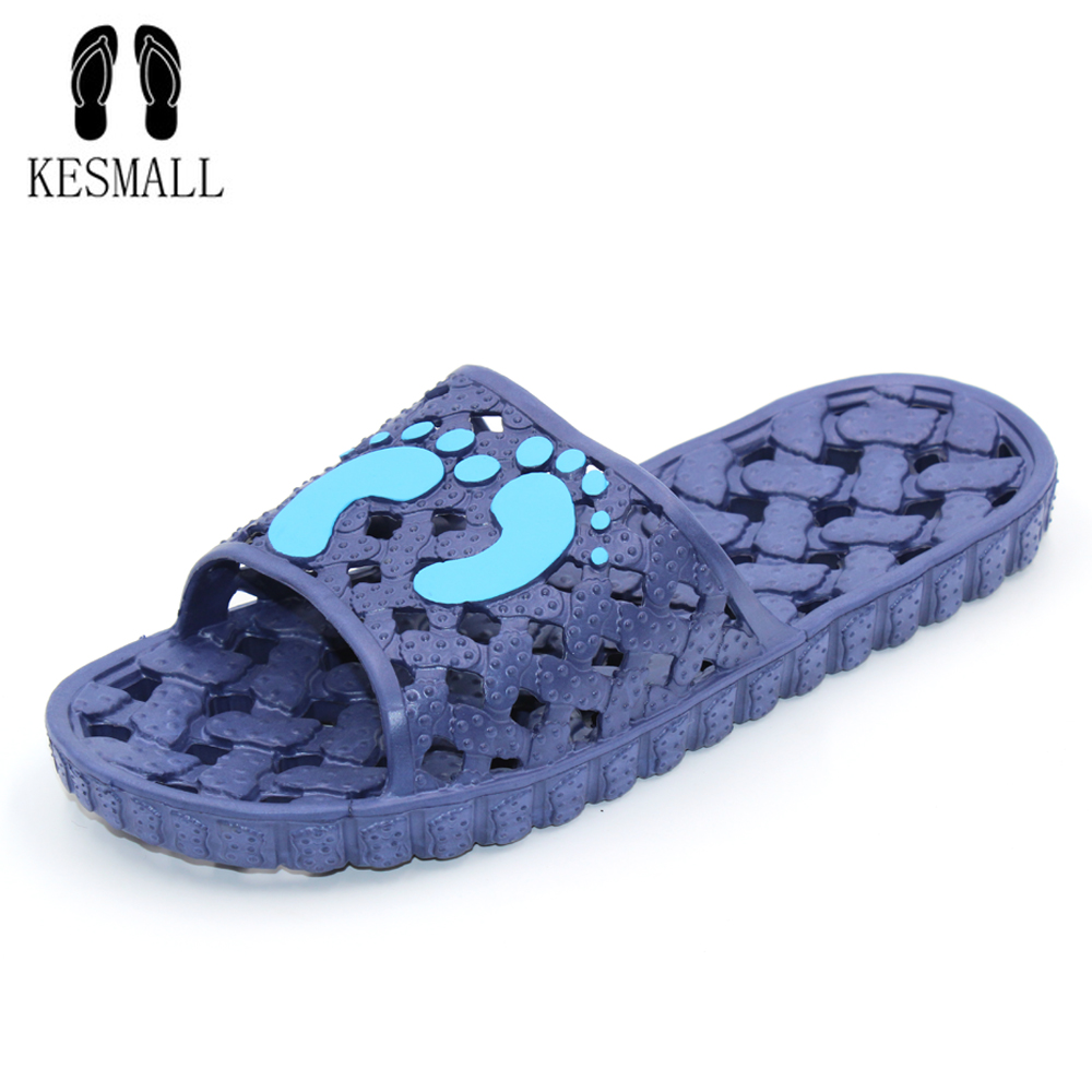 KESMALL Slippers Flip Flops Women Flip Flops Beach Sandals Bathroom Slippers Summer Women Shoes Woman Flat Sandals WS145 kuyupp fashion leather women sandals bohemian diamond slippers woman flats flip flops shoes summer beach sandals size10 ydt563