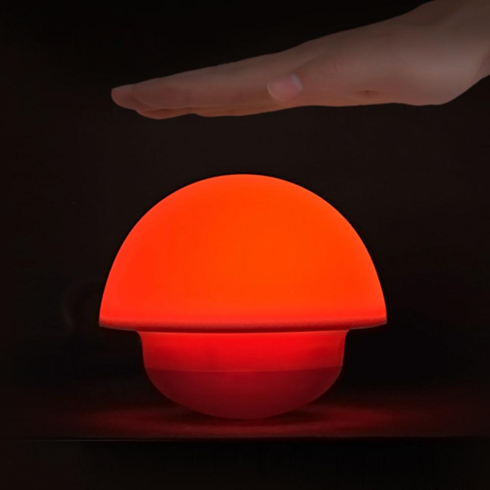 Luzes da Noite de decoração para casa Modelo Número : Tumbler Mushroom Led Night Light