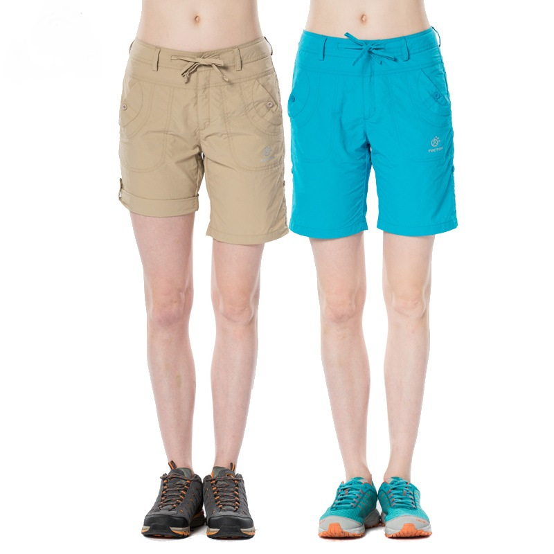 2016 Summer Women Outdoor Sport Quick Dry Breathable Climbing Hiking Shorts Girls Lightweight Short Pants S-XXL Free Shipping
