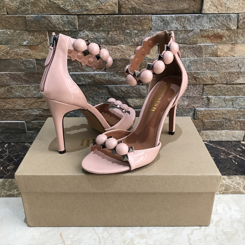 High Heel Sandals High Quality Shoes Ankle Strap Party Wedding Stilletos