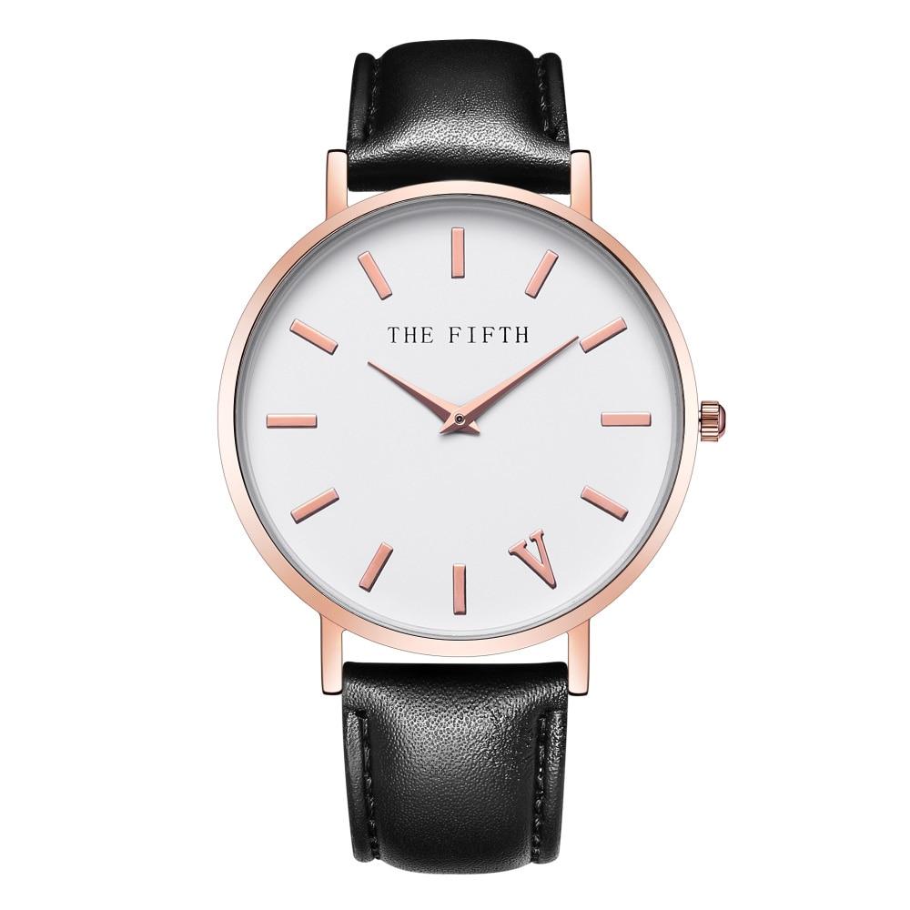 μάρκα δερμάτινο ρολόι πλήρης μαύρο - Γυναικεία ρολόγια - Φωτογραφία 5