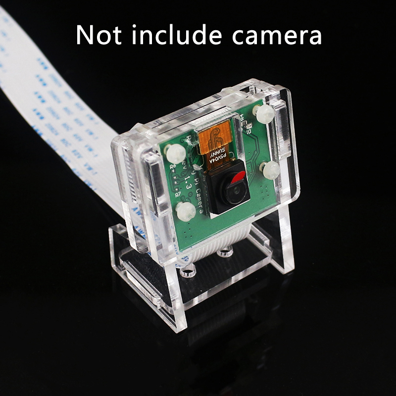 New Acrylic Holder Transparent Case For Raspberry Pi 3 OV5647 Mini Webcam / For Raspberry Pi Official Camera