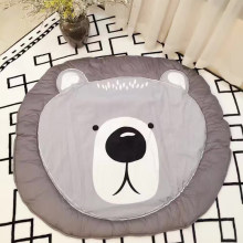 Hot Sale Cotton Baby Crawling Blanket Game Mat Bear Blanket Baby Rabbit Blanket Animal Carpet ,Warm Bear Play Mats Autumn Winter(China)