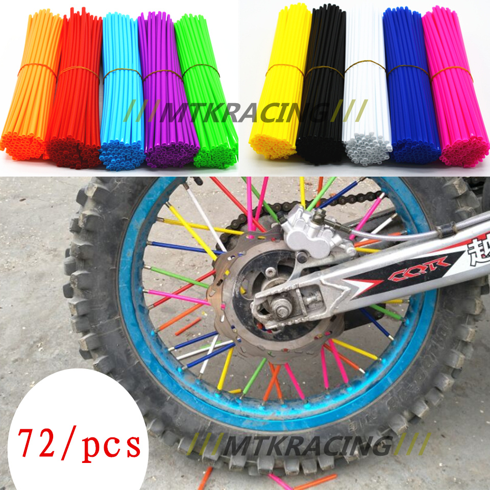 For benelli Motocross Dirt Bike Enduro Off road Wheel RIM SPOKE Shrouds SKINS HONDA KTM YAMAHA KAWASAKI AJP Enduro/Supermoto MX universal motorcycle dirt bike enduro off road wheel rim spoke shrouds skins covers for kawasaki ktm 144 150 120 sx 250 exc f xc