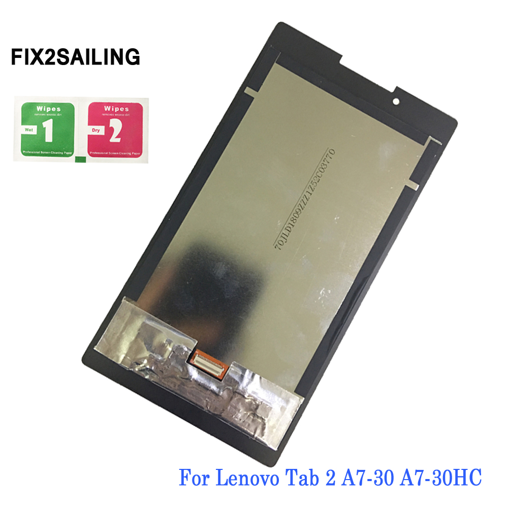 Tablet Accessories Apprehensive Lcd Display For Lenovo Tab 2 A7 A7-30 A7-30d A7-30dc A7-30gc A7-30hc A7-30h Touch Screen Assembly Replacement Profit Small Computer & Office