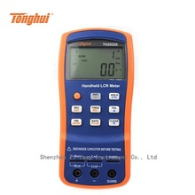 Cheaper TH2822E handheld LCR Digital Bridge 100kHz measurement parameter tester 100Hz 120Hz 1kHz 10kHz 100KHZ